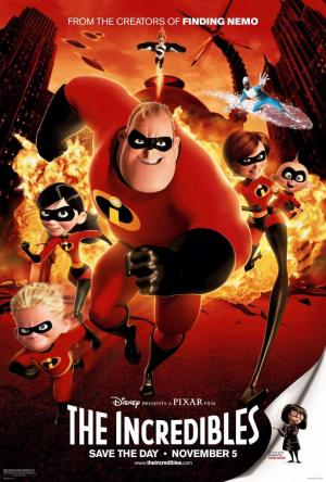 The Incredibles (2004) in english with english subtitles